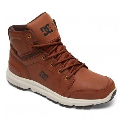 SCARPONCINO DC BOOTS TORSTEIN BROWN DARK CHOCOLATE
