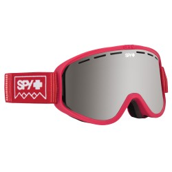SPY WOOT DEEP WINTER BLUSH/SILVER SPECTRA SNOW GOGGLE
