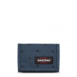 WALLET EASTPAK CREW SINGLE BLACK SQUARES EK37189P