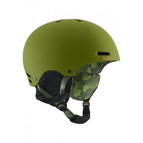 CASCO SNOWBOARD UOMO ANON RAIDER MAD TREES GREEN