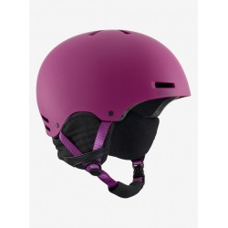 WOMAN HELMET ANON GRETA PURPLE