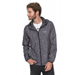 MAN QUIKSILVER EVERYDAY JACKET TARMAC ACID PRINT