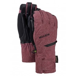 WOMAN SNOWBOARD GLOVE BURTON GORE-TEX UNDER GLOVE PORT ROYAL HEATHER