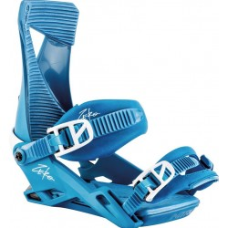 MAN SNOWBOARD BINDINGS NITRO ZERO BLUE BIRD 2019